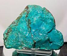 355gr PREMIUM BLUE CHRYSOCOLLA ROUGH EILAT STONE SOLOMON TURQUOISE COLOR C485