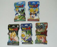 5x Dragon Ball Z Blister Booster Packs Sealed - 5 Different Sets DBZ TCG Panini