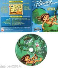 DISNEY Tarzan Atelier JEUX ACTIVITÉ PC DVD PLAISIR périple & Prof. PORTER ACTION