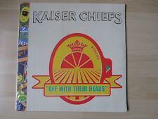 KAISER CHIEFS OFF WITH THEIR HEADS 2 LPS VINYL NEW SEALED