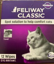Feliway Classic Wipes - Box Of 12. Expiring Jun 2020! Discounted for quick sale!