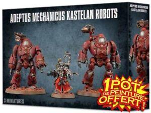 GW WARHAMMER 40K Adeptus Mechanicus Kastelan Robots / Lahuttedugobelinfou