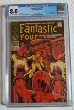 CGC 8.0 VF - 1968 Fantastic Four #81 - Crystal Joins FF - Stan Lee, Jack Kirby