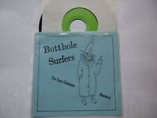 "BUTTHOLE SURFERS Live 7"" Texas Chainsaw Massacre Come Together & Cherub"