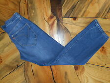 RARE Levi's Engineered Jeans Mens Size 32 X 34 Twisted Button Fly long pockets