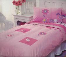 Picture Garden Duvet Doona Quilt Cover Set | Ladybugs | 180TC | US Twin | Single