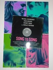 ROONEY MARA SIGNED AUTOGRAPHED SONG TO SONG 12X18 PHOTO POSTER DRAGON TATTOO