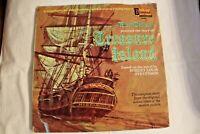 Treasure Island Disneyland LP 3997 1970 with Illustrated Book Cover G Vinyl VG+