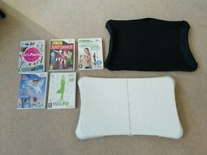 Wii Fit Balance Board and Games Bundle