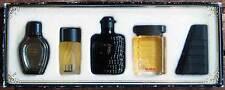 Estuche con 5 Perfumes Miniatura ALW. Francesco Smalto, Dunhill, Trussardi, etc.