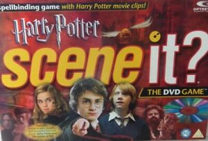 Harry Potter Edition Scene It DVD Board Game Replacement Spare Parts