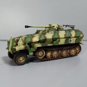 New Approx 11cm(L) WWII German Sd Kfz251 with Pak 40 Anti Tank Gun Plastic Model