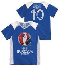T-shirts et hauts bleus en polyester à 4 ans pour garçon de 2 à 16 ans