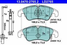 Bremsbelagsatz Scheibenbremse ATE Ceramic - ATE 13.0470-2765.2
