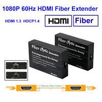 HSV351 HDMI Optical Fiber Extender SFP No Delay Lossless HDMI Over IP Extender