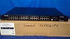 Comnet CLFE16IPS 16 Port High Power POE Midspan Injector [CTW]