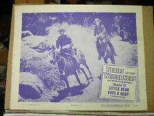 "PERILS OF THE WILDERNESS, Chap 13 ""Little Bear Pays a Debt"", orig 1955 LC (RCMP)"