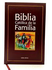 Biblia Catolica de la Familia - PASTA DURA -Spanish Catholic Family Bible - EVD