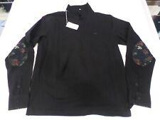 polo sun68 manica lunga tipo camicia art a28110 colore nero  tg s