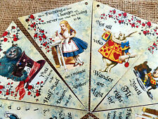 2.5m Alice in Wonderland Bunting/Banner for Any Occasion