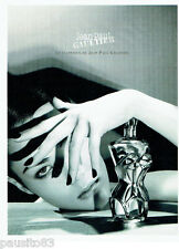 PUBLICITE ADVERTISING  046  1999  le classique de Jean Paul Gaultier parfum