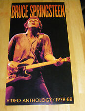 Bruce Springsteen Rare Promo Mini Poster for Video Anthology 1978-88