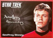 STAR TREK TOS 50th GEOFFREY BINNEY (Compton) VERY LIMITED Autograph Card