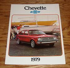 Original 1979 Chevrolet Chevette Sales Brochure 79 Chevy