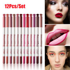 MENOW 12Pcs/Set Lip Liner Waterproof Long Lasting Lip Stick Lip Liner Beauty w