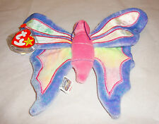 NWT Ty Beanie Babies Original Flitter Butterfly 1999 Retired 5th Gen No Stamp
