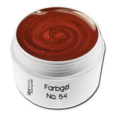 Farbgel Colorgel UV-Gel 5ml No.54 Rot Metallic Nageldesign #00730-54