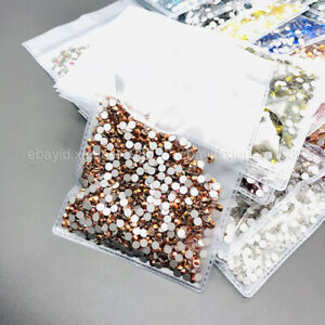 1440pcs SS16(4mm) Nail Art Rhinestones Crystal Flatback Diamond Nails Decoration