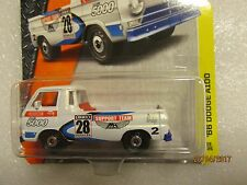 Matchbox '66 DODGE A100 MBX Support Team livery New Sealed on Card