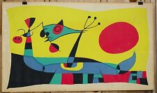 joan miro peacock feathers mourlot  lithograph 1956