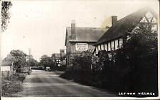 Letton near Eardisley. Village & The Swan, Proprietor N. Percival.