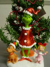 DEPT 56 THE GRINCH WELCOME CHRISTMAS FIGURINE NEW