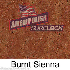 1 GL. Burnt Sienna CONCRETE COLOR DYE 4 CEMENT, STAIN AMERIPOLISH Surelock color