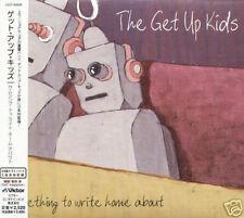 Get Up Kids Something To Write Home About Japan CD+2BONUS - NEW