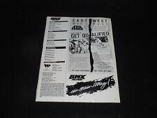 Vintage Original Bmx Action! September 1988 Magazine Volume 13, No. 9