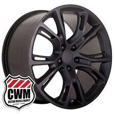 (2) 20x9 OE Performance 137MB Grand Cherokee SRT8 Matte Black Wheels Rims 5x127