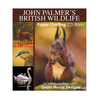 Debbi Moore John Palmer's British Wildlife Papercrafting CD ROM (324125)