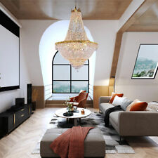 Luxury Empire Crystal Chandelier Ceiling Lamp Pendant Ceiling Light Home Decor