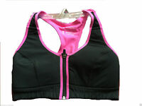 NEW TOP QUALITY HIGH IMPACT ZIP FRONT SPORTS BRA 34/36/38/40/42 B,CD,DD
