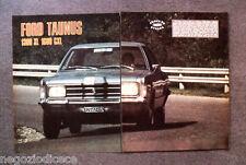 BD53 - Clipping-Ritaglio -1973- PROVE SU STRADA , FORD TAUNUS 1300 XL 1600 GXL