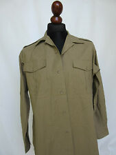 Army kaki field shirt chemise militaire anglaise Air Corps Chino Officer Uniform wk2 style USMC