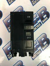 Square D Qo250, 50 Amp, 240 Volt, 2 Pole, Black Circuit Breaker - Warranty