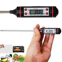 1x Digital Thermometer For Kitchen Probe Food Cooking BBQ Meat Steak Turkey Wine