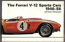 FERRARI V-12 Sports Cars 1946-56 tipo 166 3 LITRI Cars 375 Mille Miglia + RACING