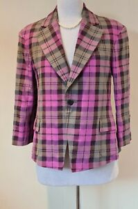 Vivienne Westwood Tartan Prince jacket Size 42 BNWT