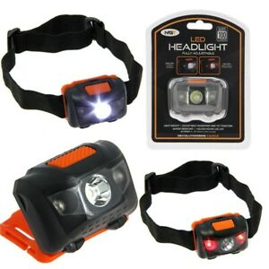 100 Lumen NGT White and Red Light Cree Head Lamp Torch Fishing Hunting Shooting